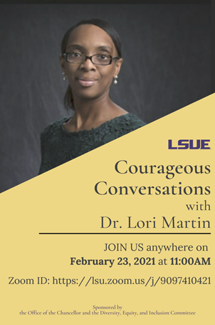 Courageous Conversations Feb. 23