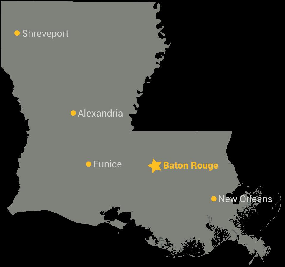 University Of Louisiana At Lafayette Campus Map.Lsu Eunice