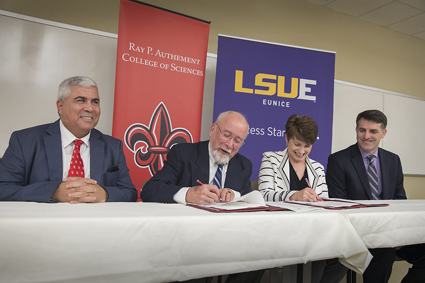 LSUE and ULL agreement