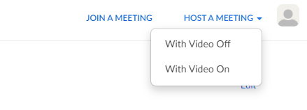 zoom-host a meeting