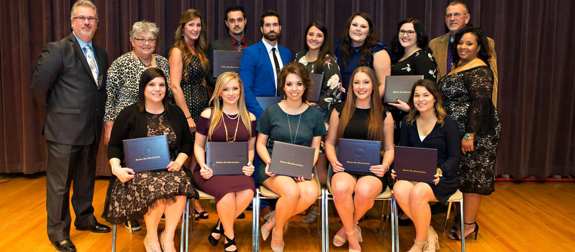 Respiratory Students Receive Pins