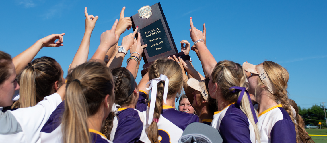 Softball Claims National Title