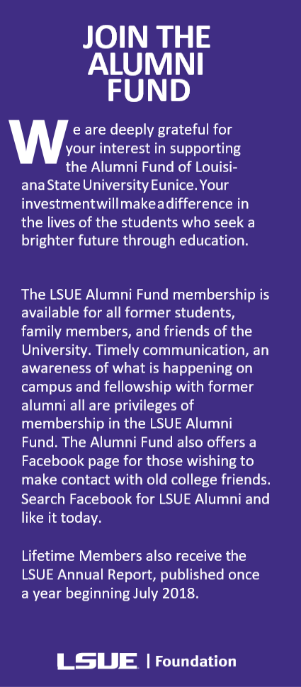 Join the alumni fund
